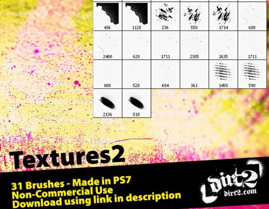60+ Must-Have Photoshop Brush Sets For Excellent Grunge Effects 8