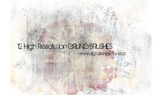 60+ Must-Have Photoshop Brush Sets For Excellent Grunge Effects 40