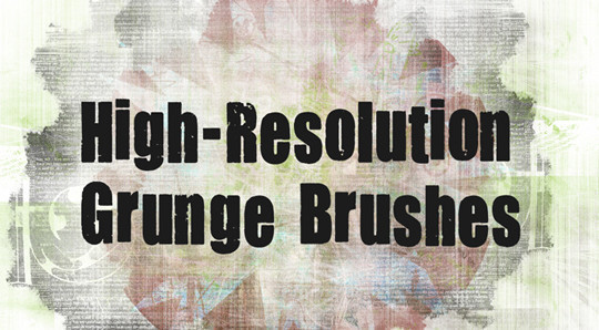 60+ Must-Have Photoshop Brush Sets For Excellent Grunge Effects 44