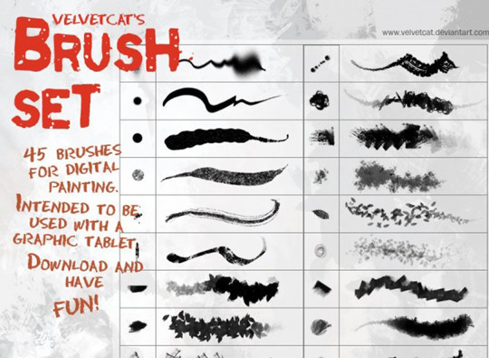 60+ Must-Have Photoshop Brush Sets For Excellent Grunge Effects 45