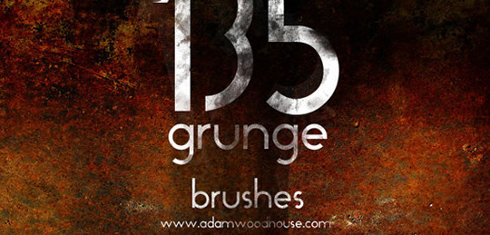 60+ Must-Have Photoshop Brush Sets For Excellent Grunge Effects 47