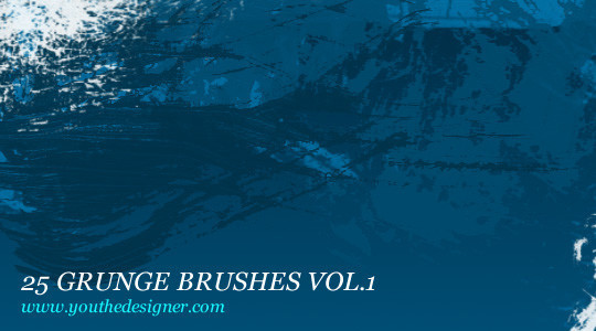 60+ Must-Have Photoshop Brush Sets For Excellent Grunge Effects 51