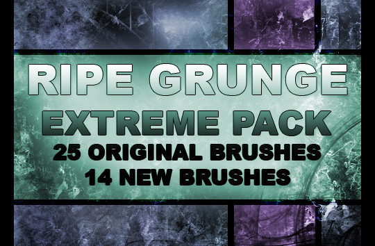 60+ Must-Have Photoshop Brush Sets For Excellent Grunge Effects 62