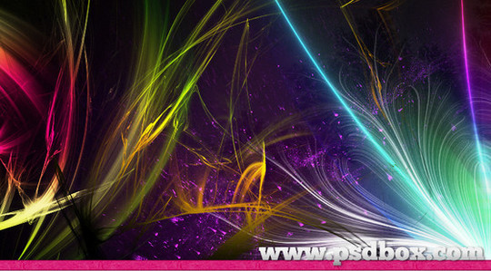 66 Desirable Photoshop Brush Sets For Creating Colorful Lighting Effects 48