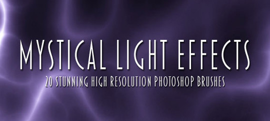 66 Desirable Photoshop Brush Sets For Creating Colorful Lighting Effects 19