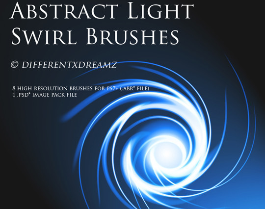 66 Desirable Photoshop Brush Sets For Creating Colorful Lighting Effects 21