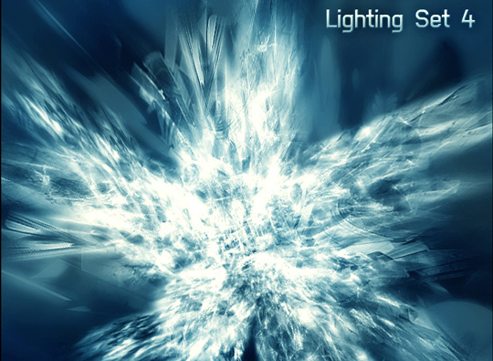 66 Desirable Photoshop Brush Sets For Creating Colorful Lighting Effects 61