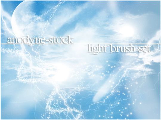 66 Desirable Photoshop Brush Sets For Creating Colorful Lighting Effects 64