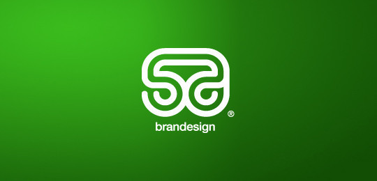 55 Cleverly Designed Creative Logo Designs With Negative Space Technique 37
