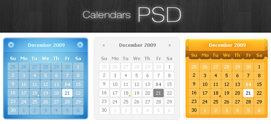 70 Free PSD Web UI Elements For Designers 20