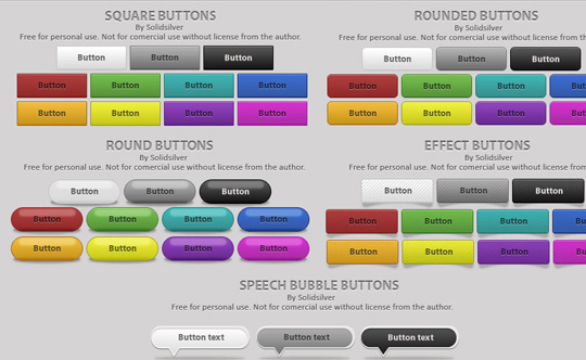 70 Free PSD Web UI Elements For Designers 21