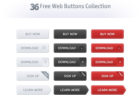 70 Free PSD Web UI Elements For Designers 22