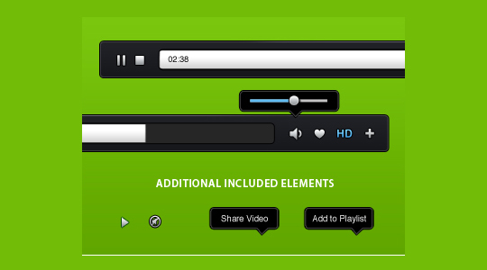 70 Free PSD Web UI Elements For Designers 9