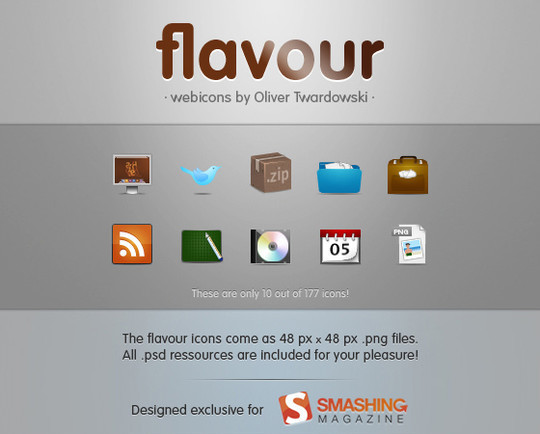 50 High Quality Free PSD Icon Sets You Probably Never Want To Miss 7