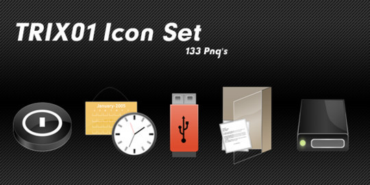 50 High Quality Free PSD Icon Sets You Probably Never Want To Miss 38