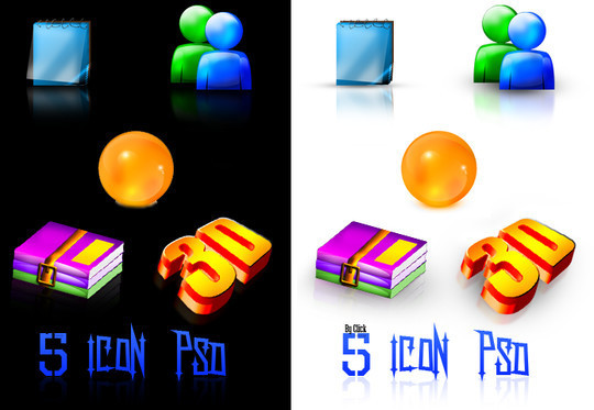 50 High Quality Free PSD Icon Sets You Probably Never Want To Miss 42