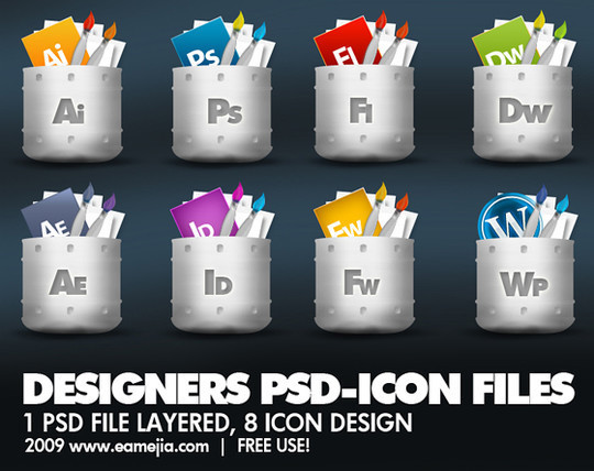 50 High Quality Free PSD Icon Sets You Probably Never Want To Miss 9