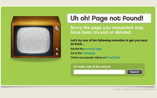 50 Creatively Designed (Unusual and Entertaining) 404 Error Pages Worth Checking Out 16