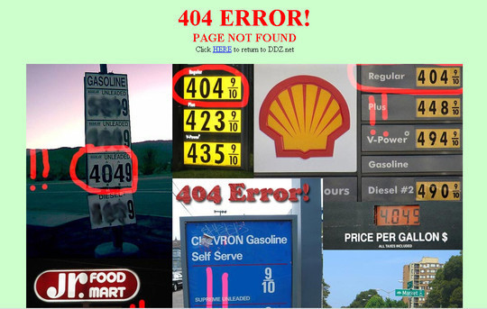 50 Creatively Designed (Unusual and Entertaining) 404 Error Pages Worth Checking Out 21