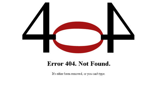 50 Creatively Designed (Unusual and Entertaining) 404 Error Pages Worth Checking Out 23