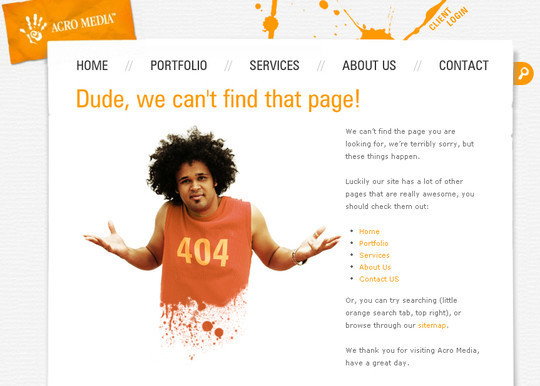 50 Creatively Designed (Unusual and Entertaining) 404 Error Pages Worth Checking Out 25