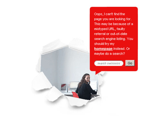 50 Creatively Designed (Unusual and Entertaining) 404 Error Pages Worth Checking Out 29