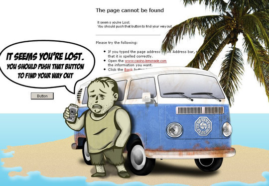 50 Creatively Designed (Unusual and Entertaining) 404 Error Pages Worth Checking Out 31