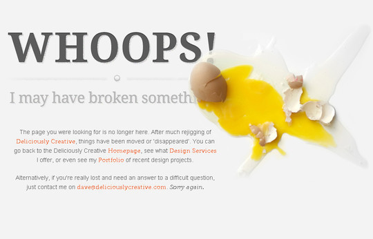 50 Creatively Designed (Unusual and Entertaining) 404 Error Pages Worth Checking Out 32