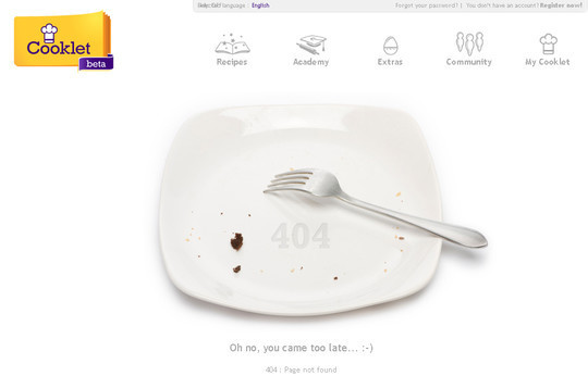 50 Creatively Designed (Unusual and Entertaining) 404 Error Pages Worth Checking Out 9