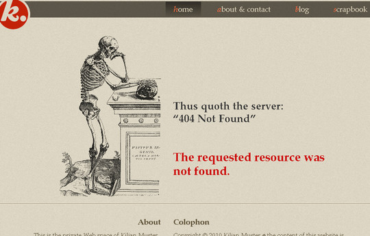 50 Creatively Designed (Unusual and Entertaining) 404 Error Pages Worth Checking Out 38