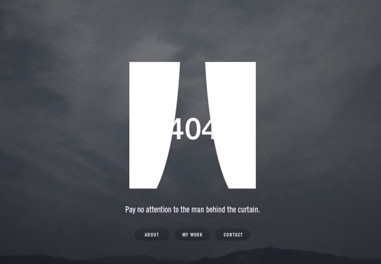 50 Creatively Designed (Unusual and Entertaining) 404 Error Pages Worth Checking Out 40