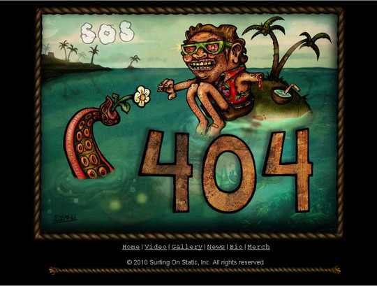 50 Creatively Designed (Unusual and Entertaining) 404 Error Pages Worth Checking Out 10