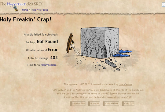 50 Creatively Designed (Unusual and Entertaining) 404 Error Pages Worth Checking Out 44