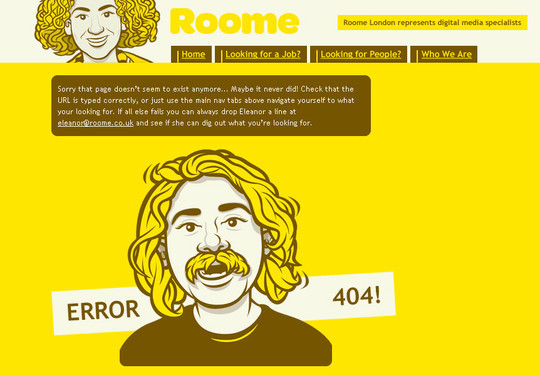 50 Creatively Designed (Unusual and Entertaining) 404 Error Pages Worth Checking Out 50