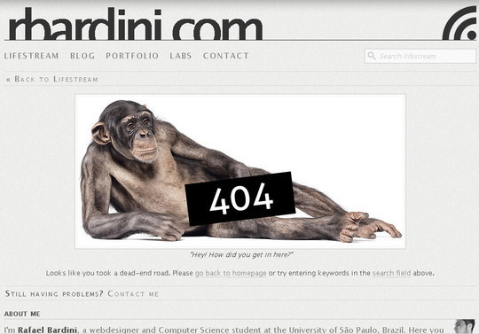 50 Creatively Designed (Unusual and Entertaining) 404 Error Pages Worth Checking Out 14