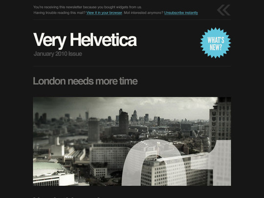 50 Useful And Free HTML Newsletter Templates 8