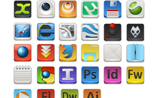 50 (Really FRESH) High Quality And Free Icon Sets 7