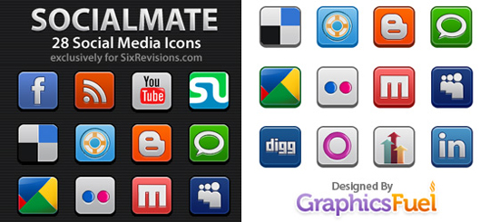50 (Really FRESH) High Quality And Free Icon Sets 6