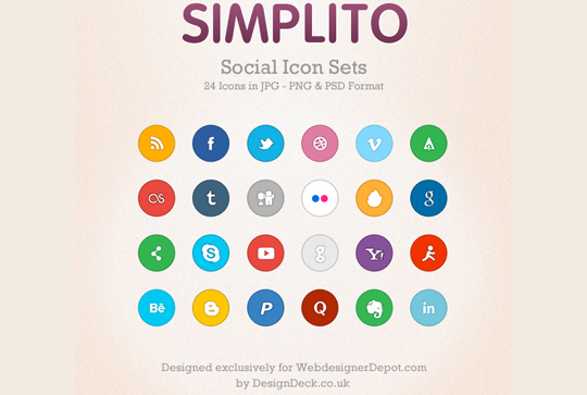 50 (Really FRESH) High Quality And Free Icon Sets 3
