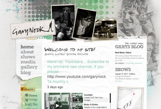 All About Grunge: 60 Useful Examples, Tutorials and Free Resources 2