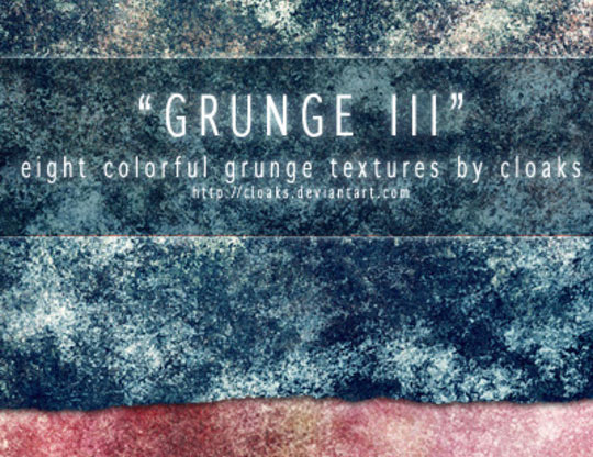 All About Grunge: 60 Useful Examples, Tutorials and Free Resources 36