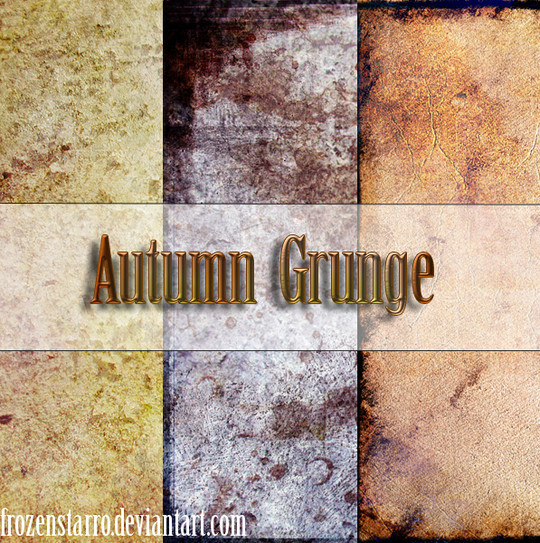 All About Grunge: 60 Useful Examples, Tutorials and Free Resources 38