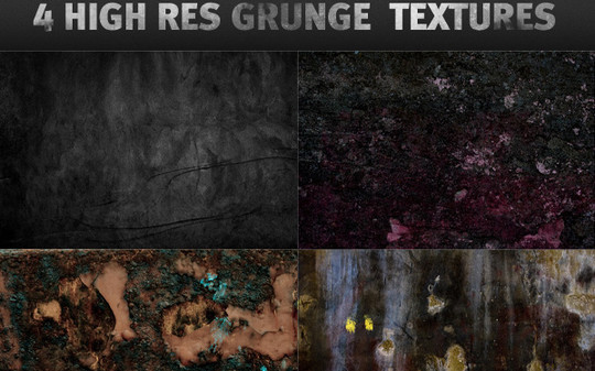 All About Grunge: 60 Useful Examples, Tutorials and Free Resources 40