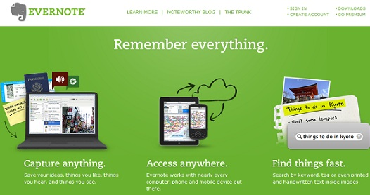 10 Online Note Taking Web Services Every Internet User Should Know About 3