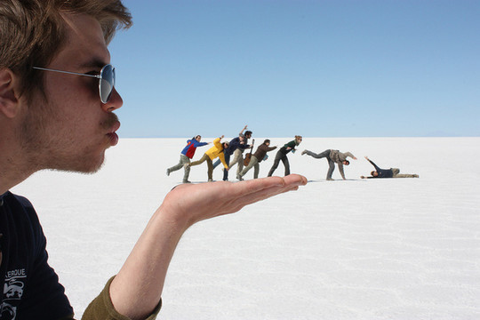 Incredible Illusions of Forced Perspective Photography 23