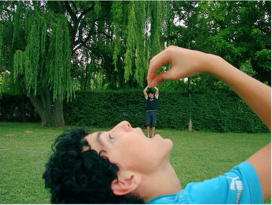Incredible Illusions of Forced Perspective Photography 5