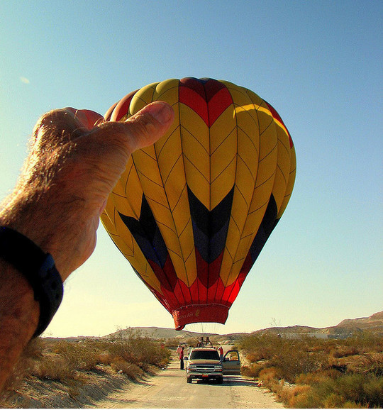 Incredible Illusions of Forced Perspective Photography 9