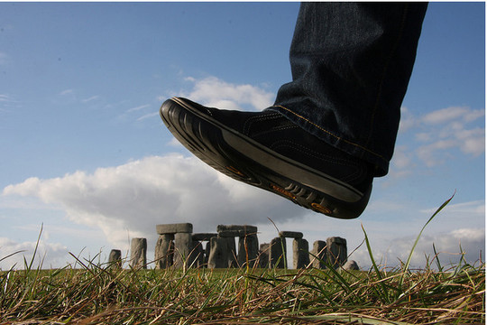 Incredible Illusions of Forced Perspective Photography 1