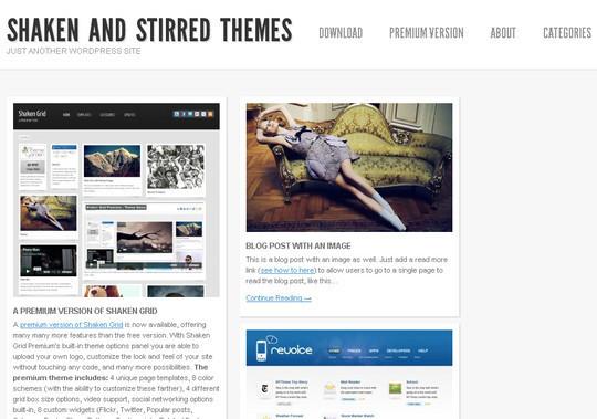 50 Minimalist And Stylish Free Wordpress Themes 25