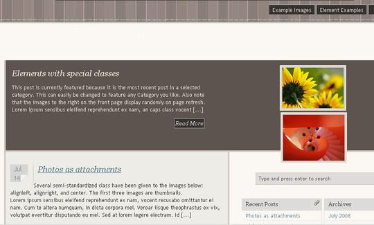 50 Minimalist And Stylish Free Wordpress Themes 13